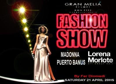fer diomedi fashion show gran melia don pepe